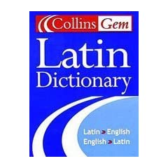 Collins Gem Latin Dictionary: Second Edition (Collins Language)