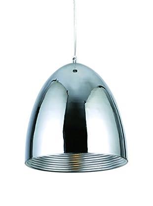 Urban Lights Industrial 1-Light Pendant Lamp, Chrome