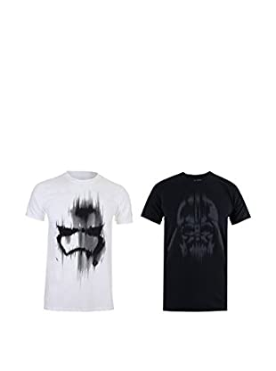 Star Wars Pack x 2 Camisetas Manga Corta