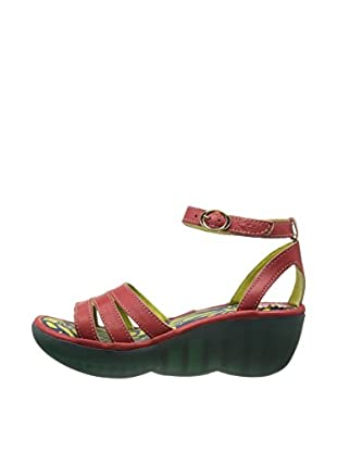 Fly London Sandalias Bez (Rojo)