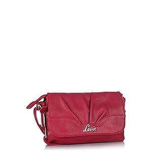 Fuchsia Celebes Csb Pleats Sling Bag Lavie