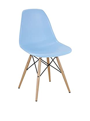 Modway Pyramid Dining Side Chair (Light Blue)