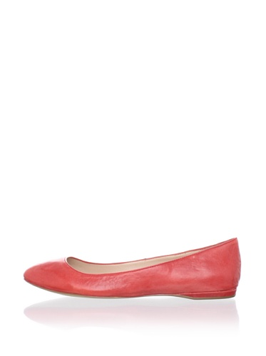 DV by Dolce Vita Women's Lucca Flat (Red)