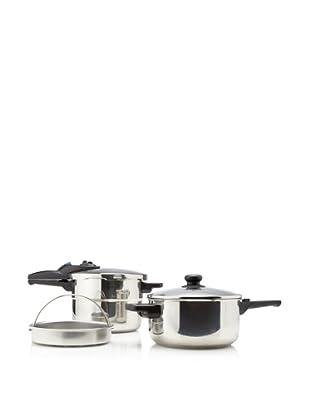 Fagor Express 5-Piece Pressure Cooker Set