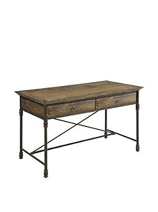 Coast to Coast Lattice 2-Drawer Desk
