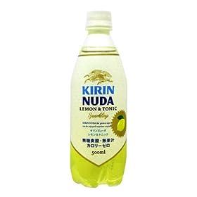 (お徳用ボックス) Nude ( ヌューダ ) レモン&トニック 500ml×24本