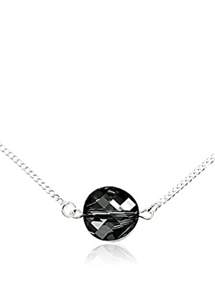 So Charm with Crystals from Swarovski Collar  Negro