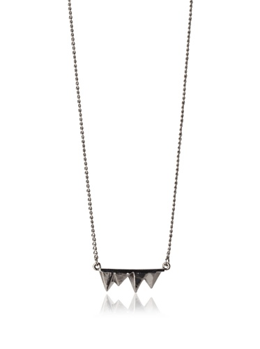 Copy Men's Spike Necklace (Black)