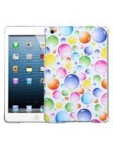 MyBat Back Protector Cover for iPad mini, Rainbow Bigger Bubbles Smart Slim (IPADMINIHPCBKIM953WP)