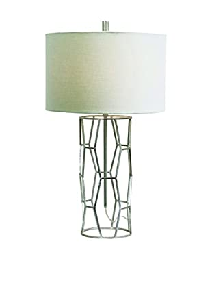 Couture Hollywood Table Lamp, Silver