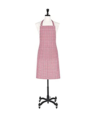 KAF Home Gingham Apron, Red