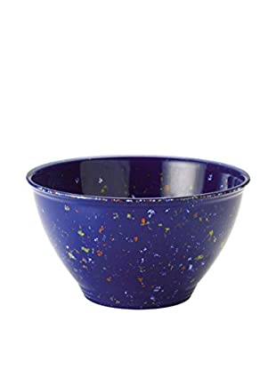 Rachael Ray Garbage Bowl with Non-Slip Rubber Base, Blue