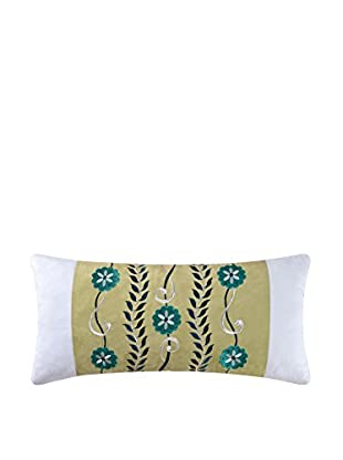 Alena Embroidered Lumbar Pillow, Multi