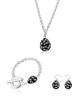 Louise Zoé Set Halskette, Armband und Ohrringe
