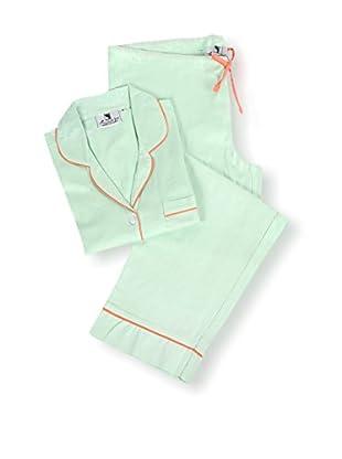 Malabar Bay Sateen Pajama Set