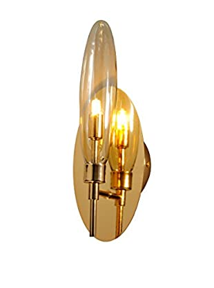 Varaluz Capsule 1-Light Wall-Lighting, Champagne/Champagne