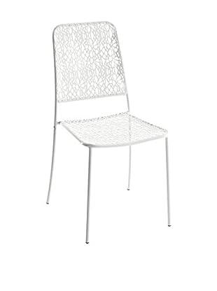 Contemporary Living Stuhl 4er Set Da Esterno weiß