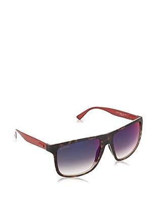GUCCI Gafas de Sol 1075/ S HI H6Q 57 (57 mm) Havana / Rojo