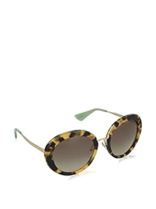 PRADA MEDIUM HAVANA WITH GREEN GRADIENT
