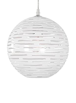 Varaluz Dashing 1-Light Sphere Mini Pendant, White