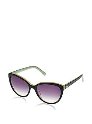 Lacoste Sonnenbrille L793S5617140 (56 mm) schwarz/grün