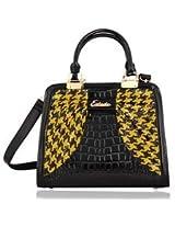 Esbeda Pu Synthetic Ladies Hand Bag - 6190 (Yellow)
