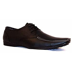 Branded Big Junior Formal Shoes for Men - Black