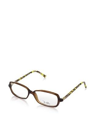 Emilio Pucci Women's EP2636 Eyewear, Walnut, One Size
