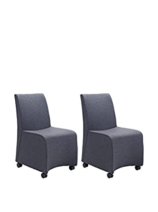 Zuo Set of 2 Whittle Chairs