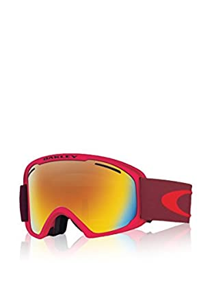 Oakley Máscara de Esquí O2 Xl Mod. 7045 Clip Rojo
