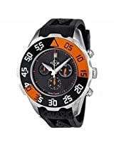 Gv2 By Gevril Parachute Chronograph Rubber Date Mens Watch 3002R