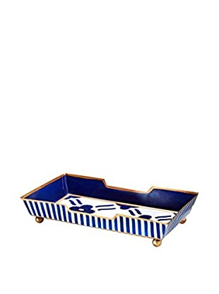 Jayes Pacifico Guest Towel Tray, Blue