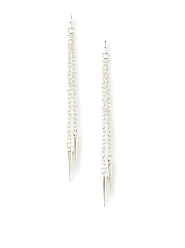 Jules Smith Silver Zoey Bullet Earrings