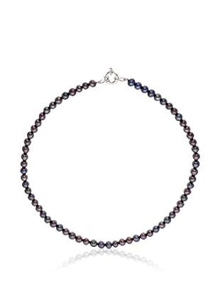 Mitzuko Halskette rhodiniertes Silber 925