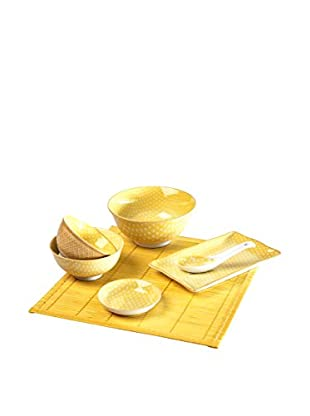 Set, Sushi gelb