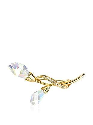 Crystal Pearl Broche