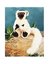 """Plush Sifaka Lemur 9"""""""