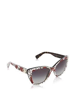 Dolce & Gabbana Gafas de Sol 4216 (55 mm) Blanco / Rojo