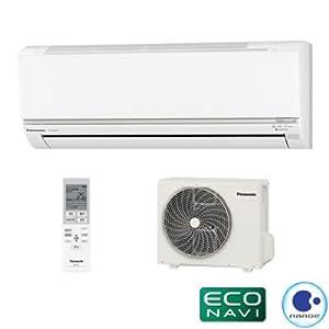パナソニック エアコン 8畳用 インバーター冷暖房除湿タイプ EXシリーズ CS-EX252C-W-SET クリスタルホワイト CS-EX252C-W+CU-EX252C