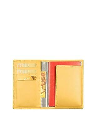 Lucrin Brieftasche PM1137_VCLS_JAN gelb