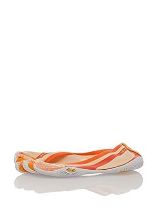 Vibram Fivefingers Zapatillas 13W0305 Entrada (Naranja / Blanco)