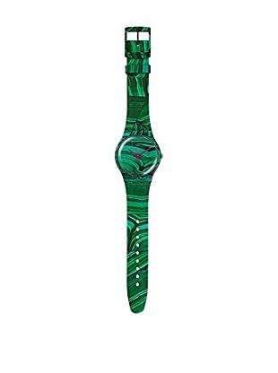 Swatch Reloj de cuarzo Unisex Marmora Verde  41 mm