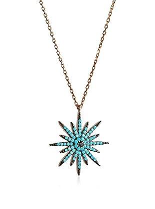 MY MACHT Jewels Conjunto cadena y colgante plata de ley 925 milésimas