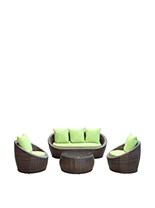 Modway Avo 4-Piece Outdoor Patio Sofa Set