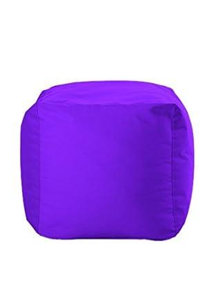 Sitting Bull Puff Cube Violeta