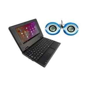 Ambrane Mini Laptop LP7 with SP-10 Speaker