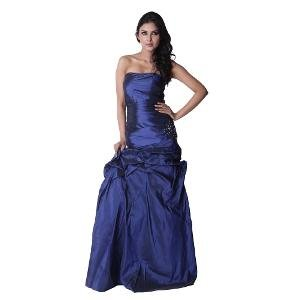 Trendy Divva blue Gown for Women