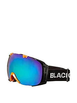 Black Crevice Skibrille Flachau schwarz/orange