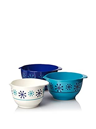 Happy Chic by Jonathan Adler Mixing Bowl Set, Blue Multi