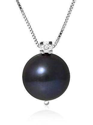 So Fine Pearls Conjunto de cadena y colgante plata de ley 925 milésimas